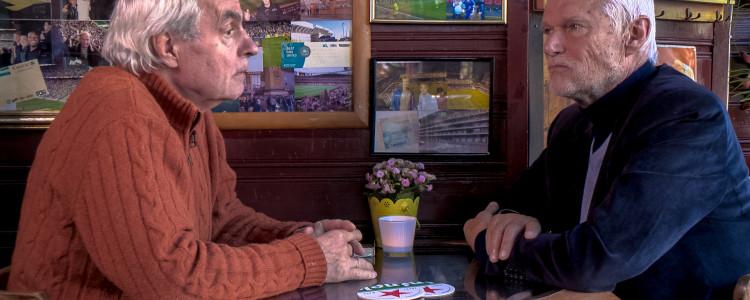 Ontmoeting na 50 jaar van de Provos Roel van Duijn en Bernhard de Vries